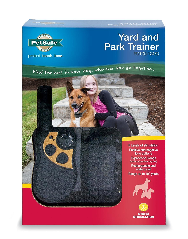 amazon com petsafe yard u0026 park rechargeable dog training collar