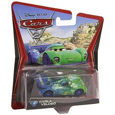 Disney/Pixar Cars 2 Movie Die-Cast Vehicle, Carla Veloso #8, 1:55 Scale: Toys & Games