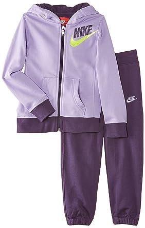 Nike Warm-Up - Chándal de Fitness para niña, Color Morado ...
