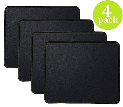28f8898d404a1 4 Mouse Pad Stitched Edges Premium-Textured Large Mouse Pads Mat Natural  Non-Slip