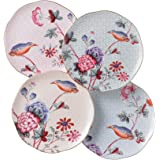 Wedgwood Harlequin Cuckoo Tea Story Tea Plates, Set of 4