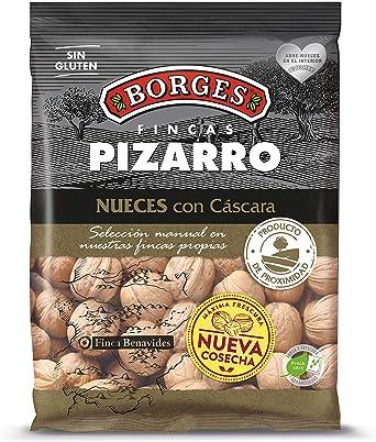 Borges Pizarro - Nueces con Cáscara Elaboradas Íntegramente en la Península Ibérica - Bolsa de 500 Gramos.: Amazon.es: Alimentación y bebidas