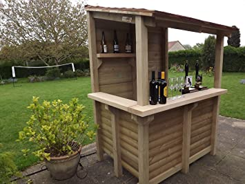 Cedar Garden Bar   Hand Crafted By Tanglewood Cedar ( Wine Bar )