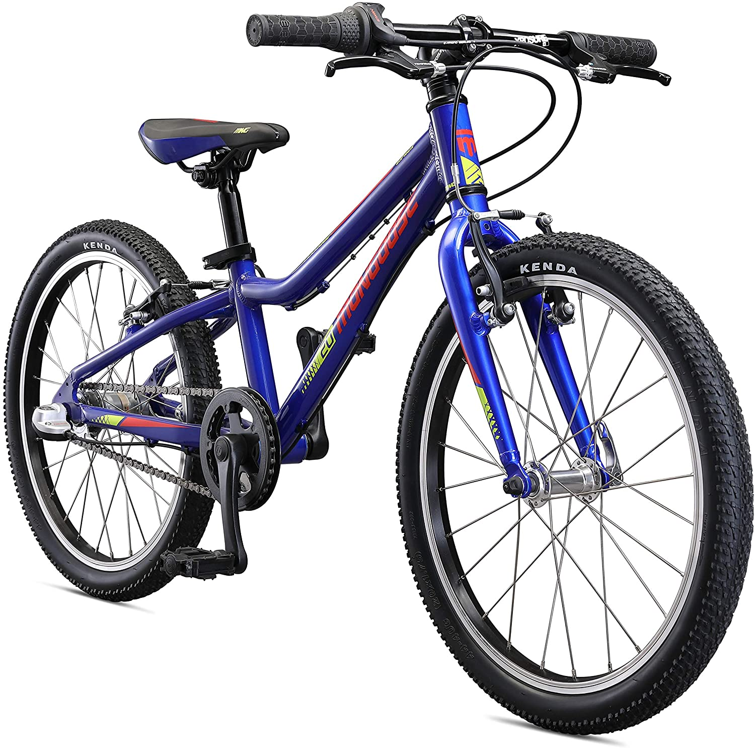 Mongoose Cipher Kids Mountain Bike with 20-Inch or 24-Inch Wheels