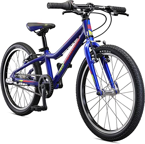 Mongoose Cipher Kids Mountain Bike Blue