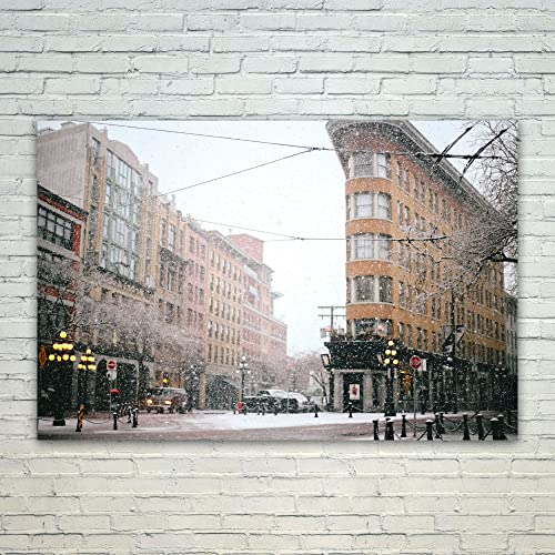 Amazon westlake photography poster print wall gastown westlake photography poster print wall gastown metropolitan modern picture photography home decor office reheart Images
