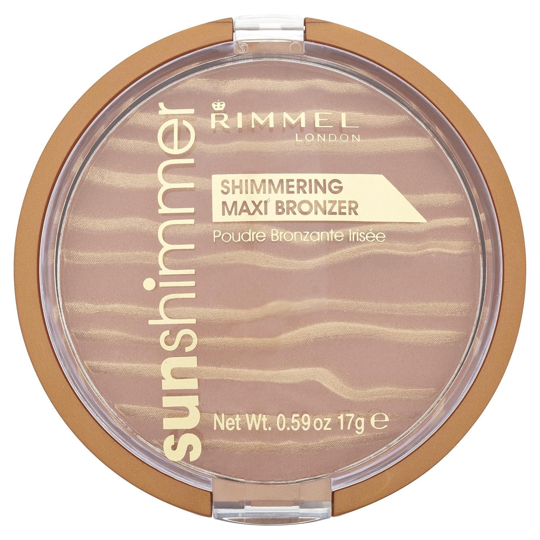 Amazon.com: Rimmel Sunshimmer Shimmering Maxi Bronzer Sun Queen: Beauty