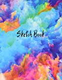 Sketch Book: Notebook for Drawing, Writing, Painting, Sketching or Doodling, 120 Pages, 8.5x11 (Premium Abstract Cover…