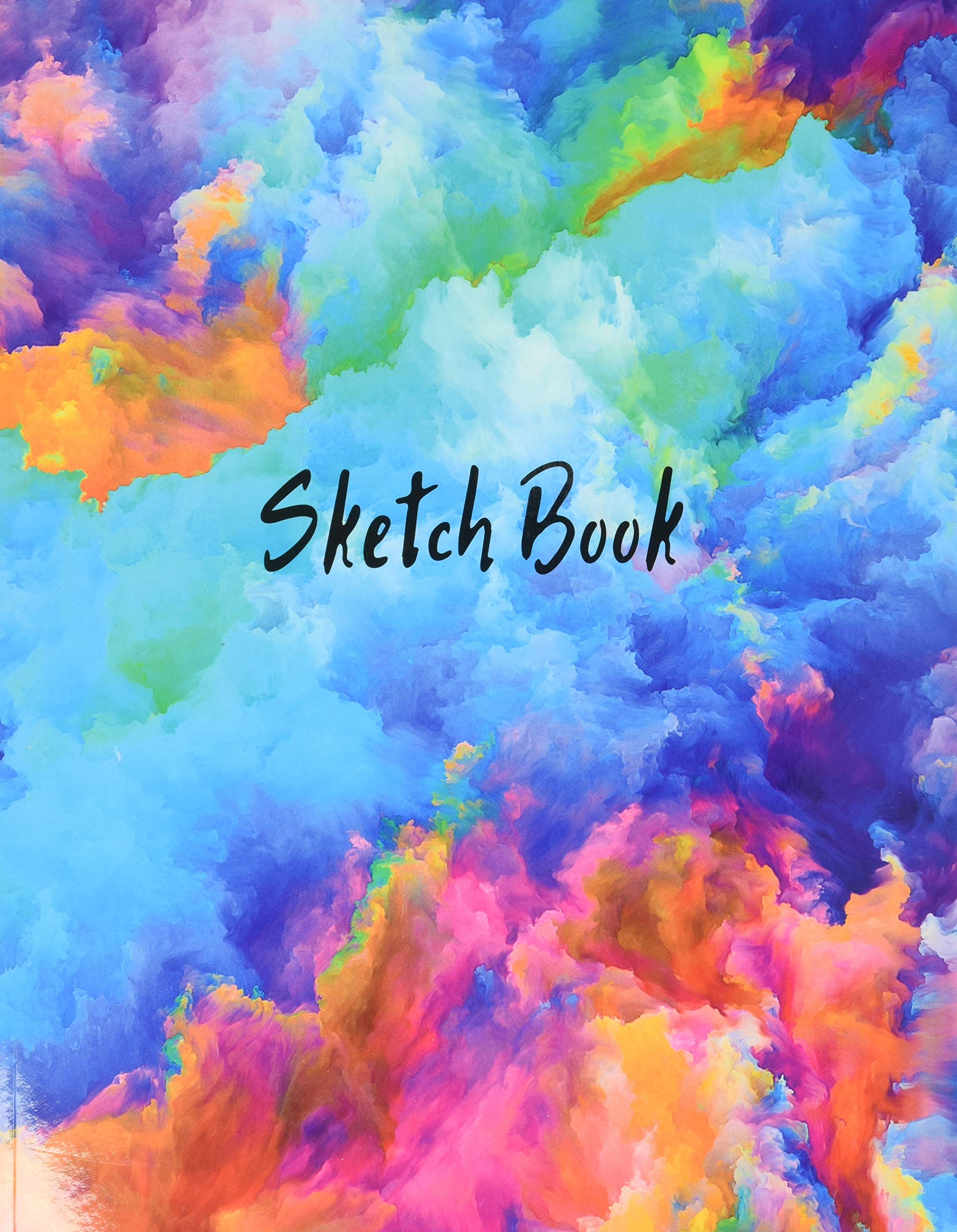 Sketch Book: Notebook for Drawing, Writing, Painting, Sketching or Doodling, 120 Pages, 8.5×11 (Premium Abstract Cover vol.4)