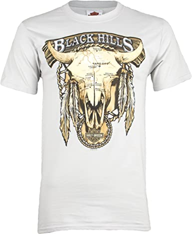 Sturgis Harley-Davidson® Men/'s Buffalo Cloud Short Sleeve T-Shirt