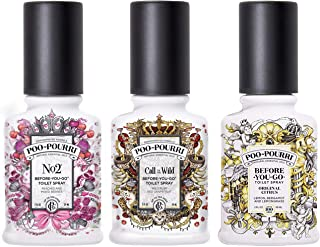 product image for Poo-Pourri Before You Go Toilet Spray Call of the Wild, Wild Pear and No2 2 Ounce Bottles