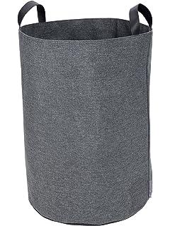 Bigso Soft Floor Storage Bin, Grey