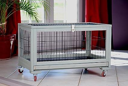 Inland Jaula para conejo (77 x 48 cm): Amazon.es: Productos para ...