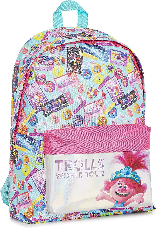Trolls Mochilas Escolares Juveniles con Poppy Troll, Material Escolar Mochila Niña para Colegio o Viaje, Trolls 2 Gira Mundial Mochila Escolar Oficial, Regalos Originales para Niñas Niños: Amazon.es: Equipaje