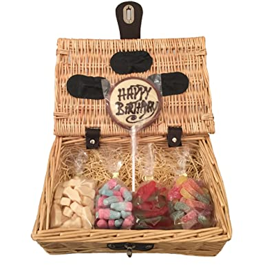 Happy Birthday Variety Pick N Mix Hamper Gift Basket