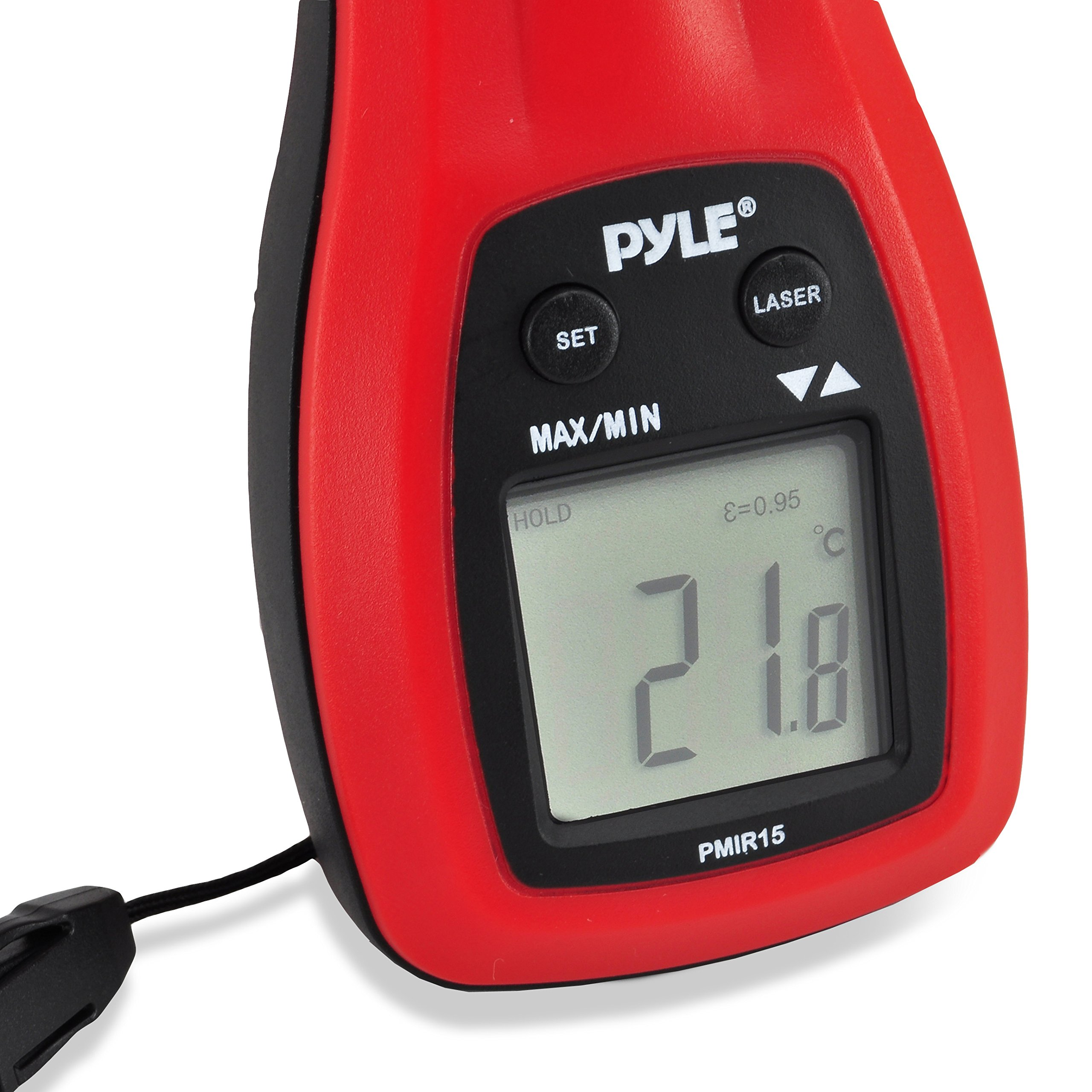 PYLE Meters PMIR15 Mini Infrared Thermometer with Laser Pointer by Pyle (Image #4)