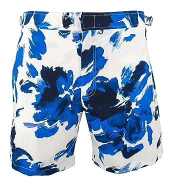 4bc8369dba Polo Ralph Lauren Monaco Watercolor Floral Swim Trunks | Amazon.com