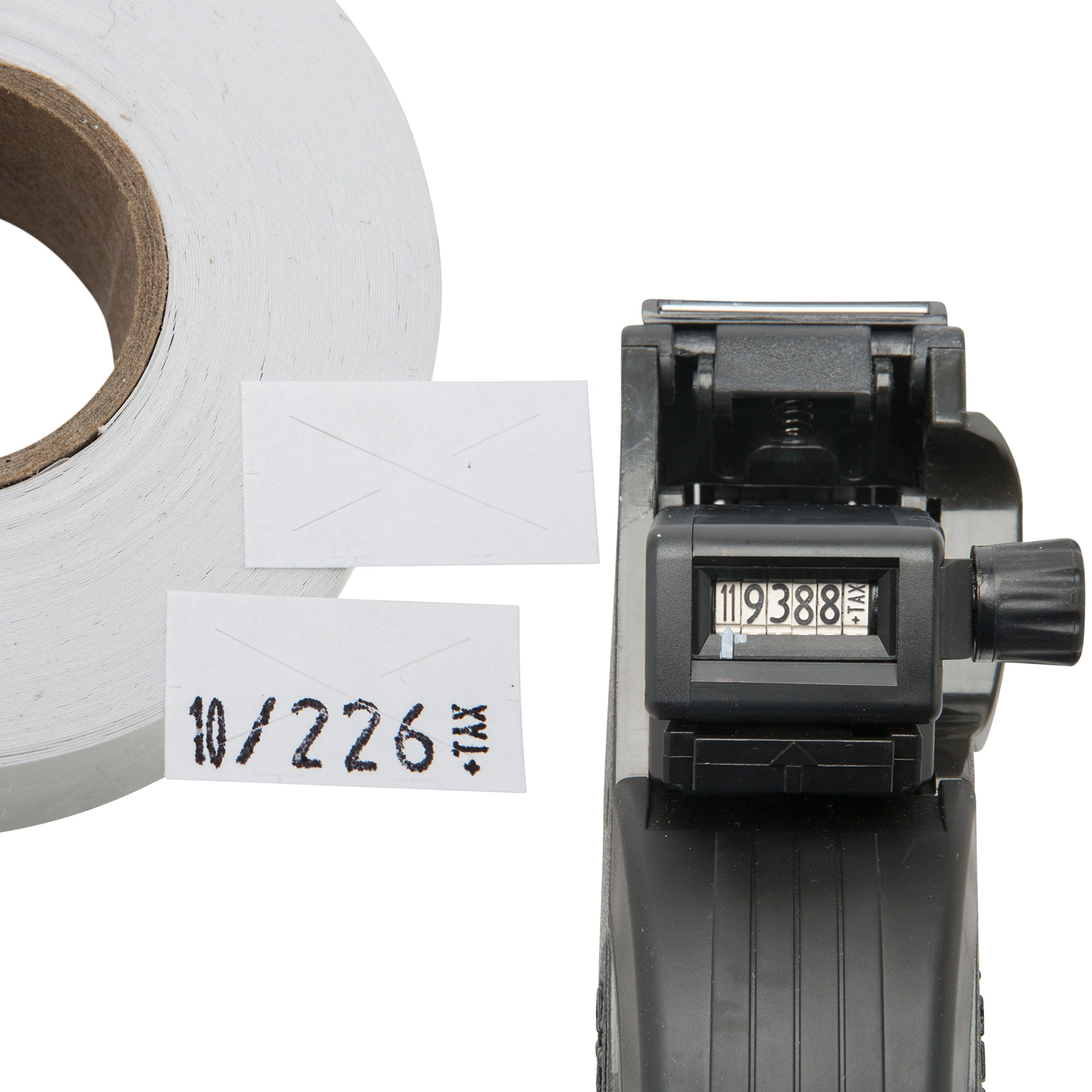 Garvey 22-6 One Line Price Marking Gun Kit: Includes Price Gun, 5,000 White Pricing Labels and Preloaded Inker by Perco (Image #5)