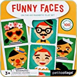 Magnetic Play Set - Funny Faces Game