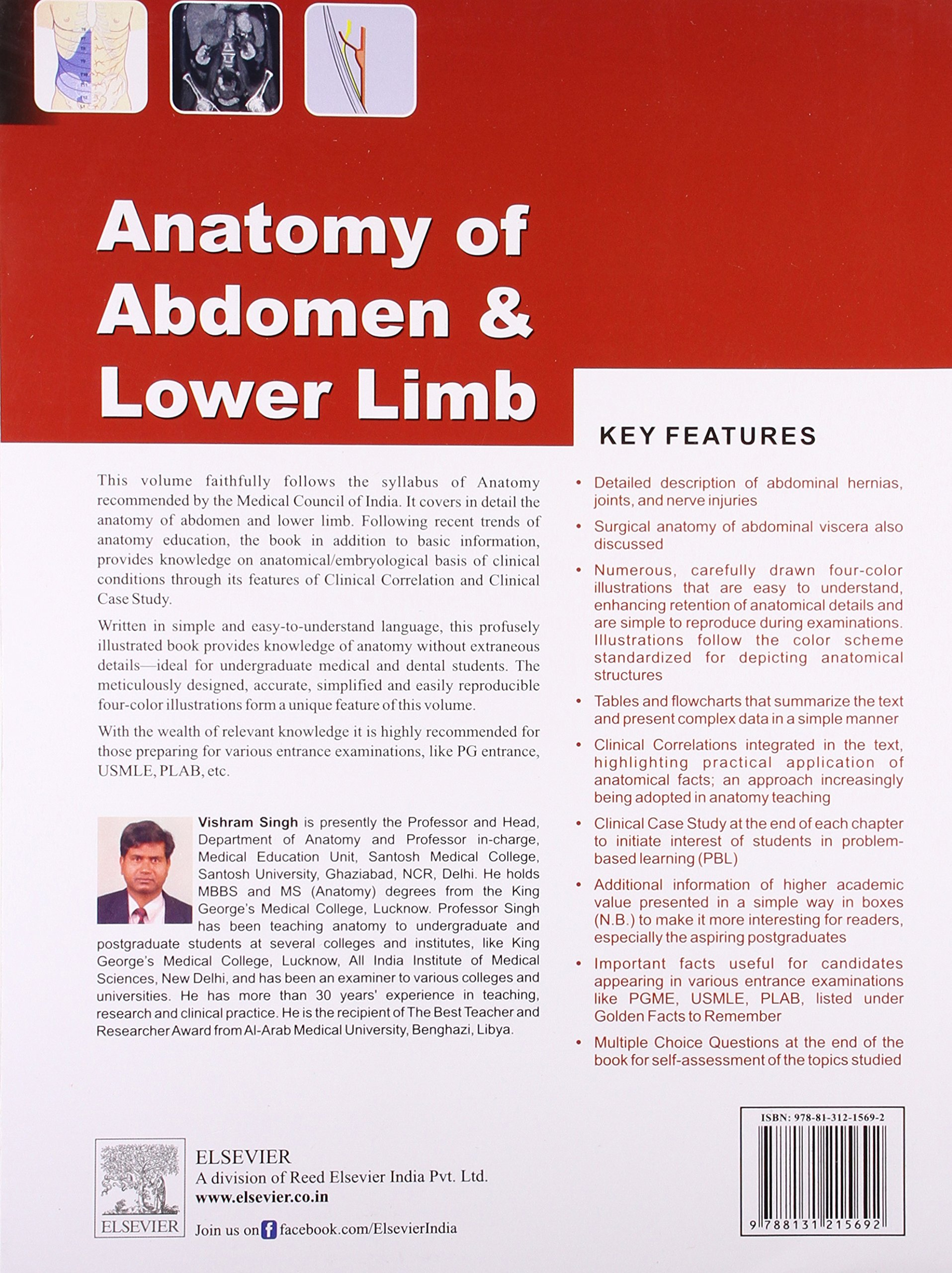 Buy Anatomy of Abdomen and Lower Limb (Old Edition) Book Online at ...
