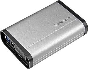 StarTech.com DVI Video Capture Card - 1080p 60fps Game Capture Card - Aluminum - Game Capture Card - HD PVR - USB Video Capture (USB32DVCAPRO)