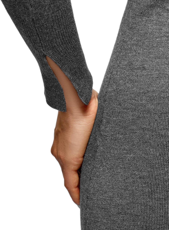 oodji Collection Damen Strickkleid Basic