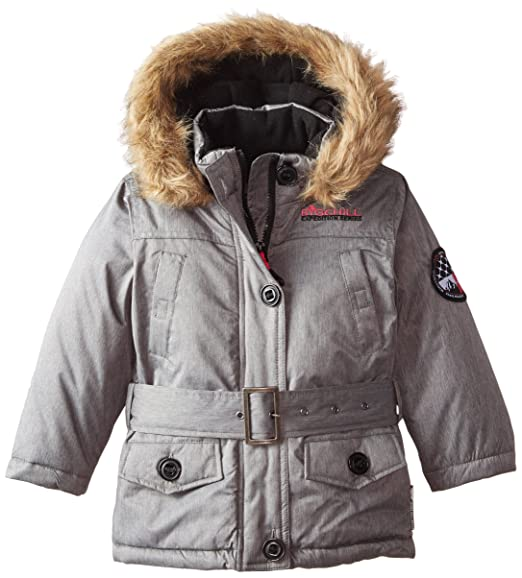 Big Chill Little Girls' Expedition Jacket, Yarn Dye, 5/6