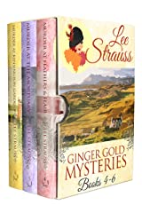 3 Ginger Gold Mysteries Books 4-6: Cozy Historical Mysteries Kindle Edition