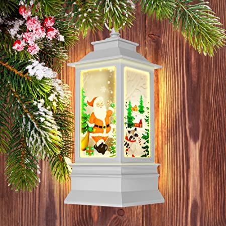 Amazon Com Decorative Christmas Lanterns Led Candle Holder For