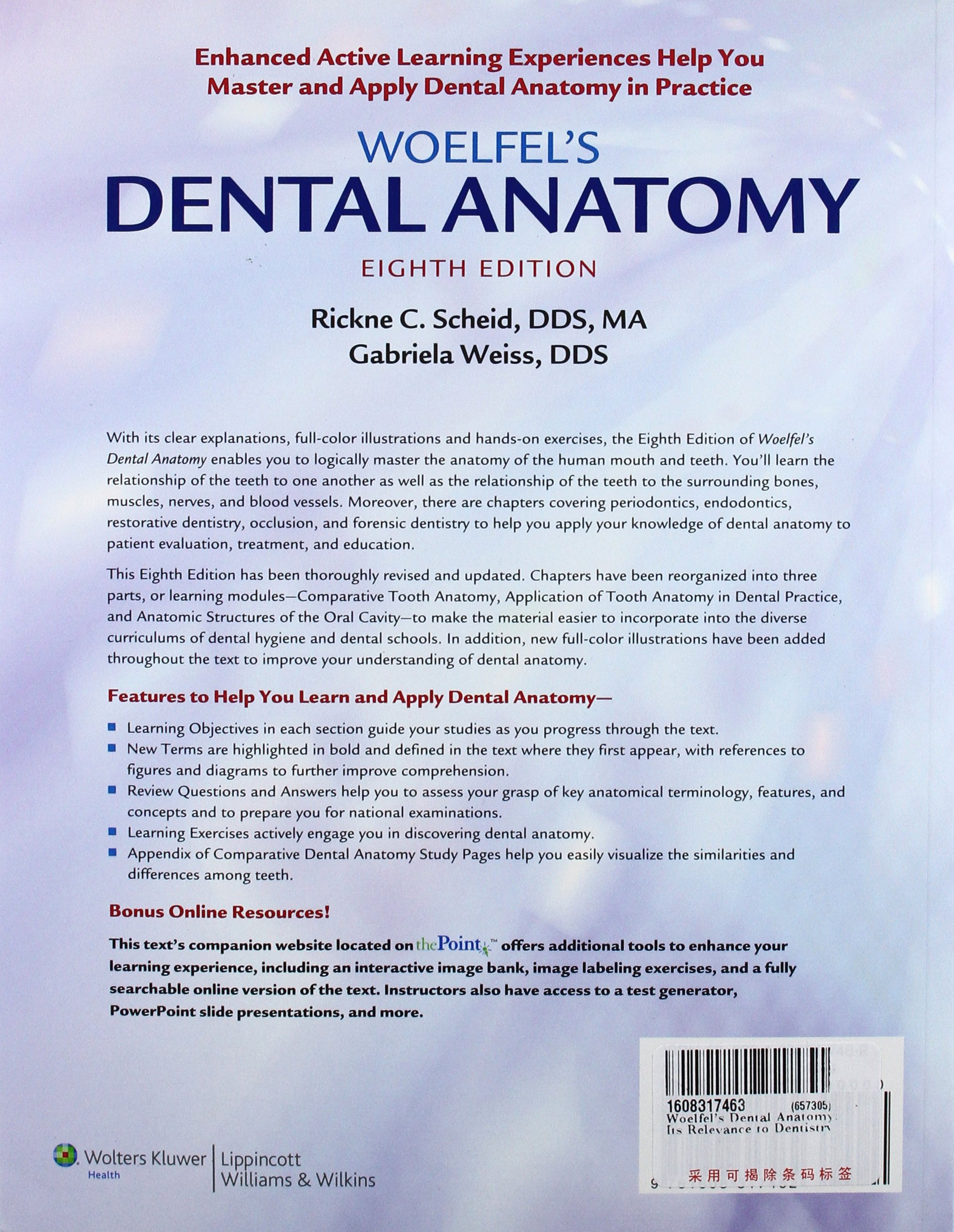 Buy Woelfel\'s Dental Anatomy: Its Relevance to Dentistry Book Online ...