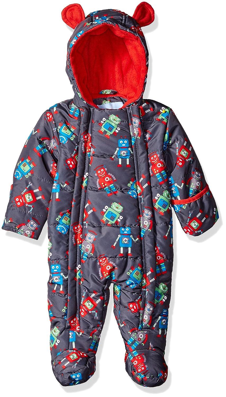 323bce20a878 Amazon.com  Wippette Baby Boys  Robots Micro Fiber Pram  Clothing