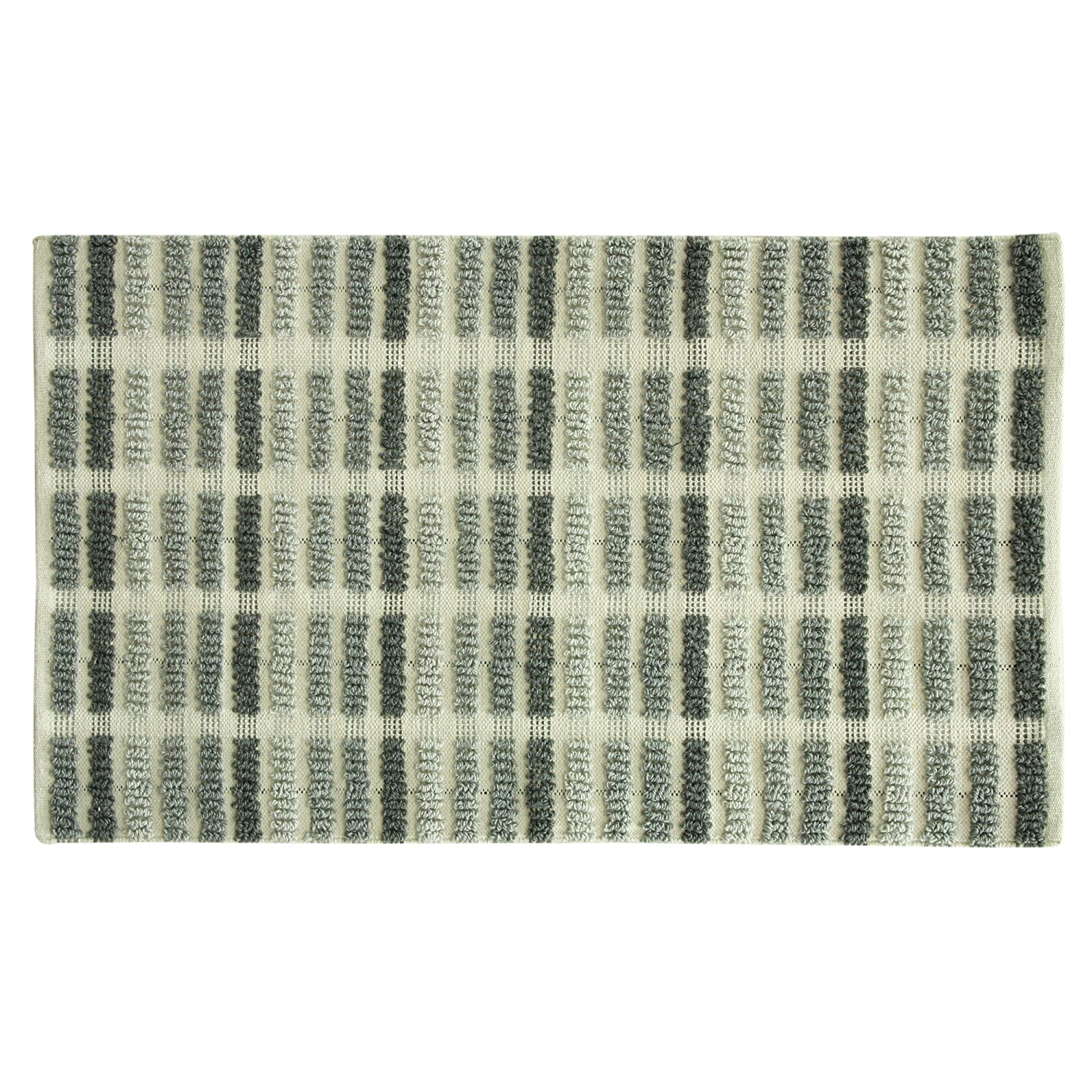 Bacova Guild Jessica Simpson Wynne Accent Rug, Bath Rug, 45'x27', Gray