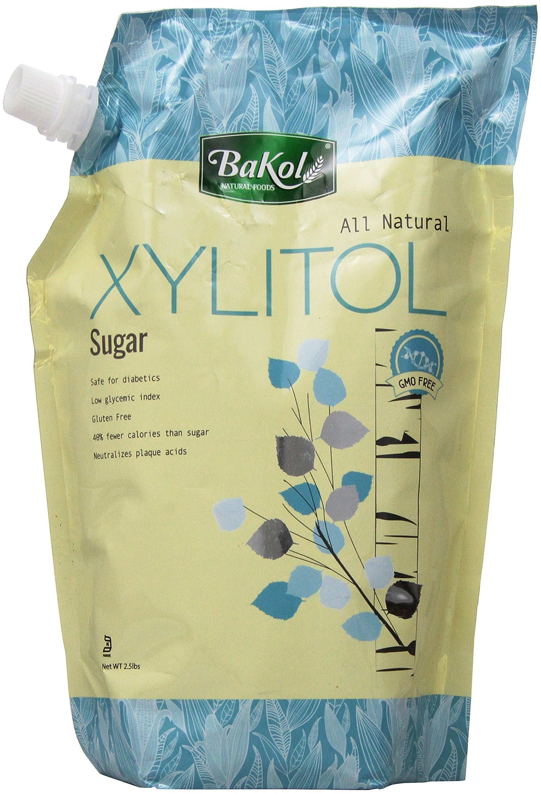 bakol Xylitol Sweetener, 2.5 Pound