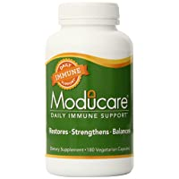 Moducare Daily Immune Support, Plant Sterol Dietary Supplement, 180 vegetarian capsules