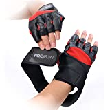 PROIRON Weight Lifting Gloves Strength Training Gym Fitness Exercise Workout Men