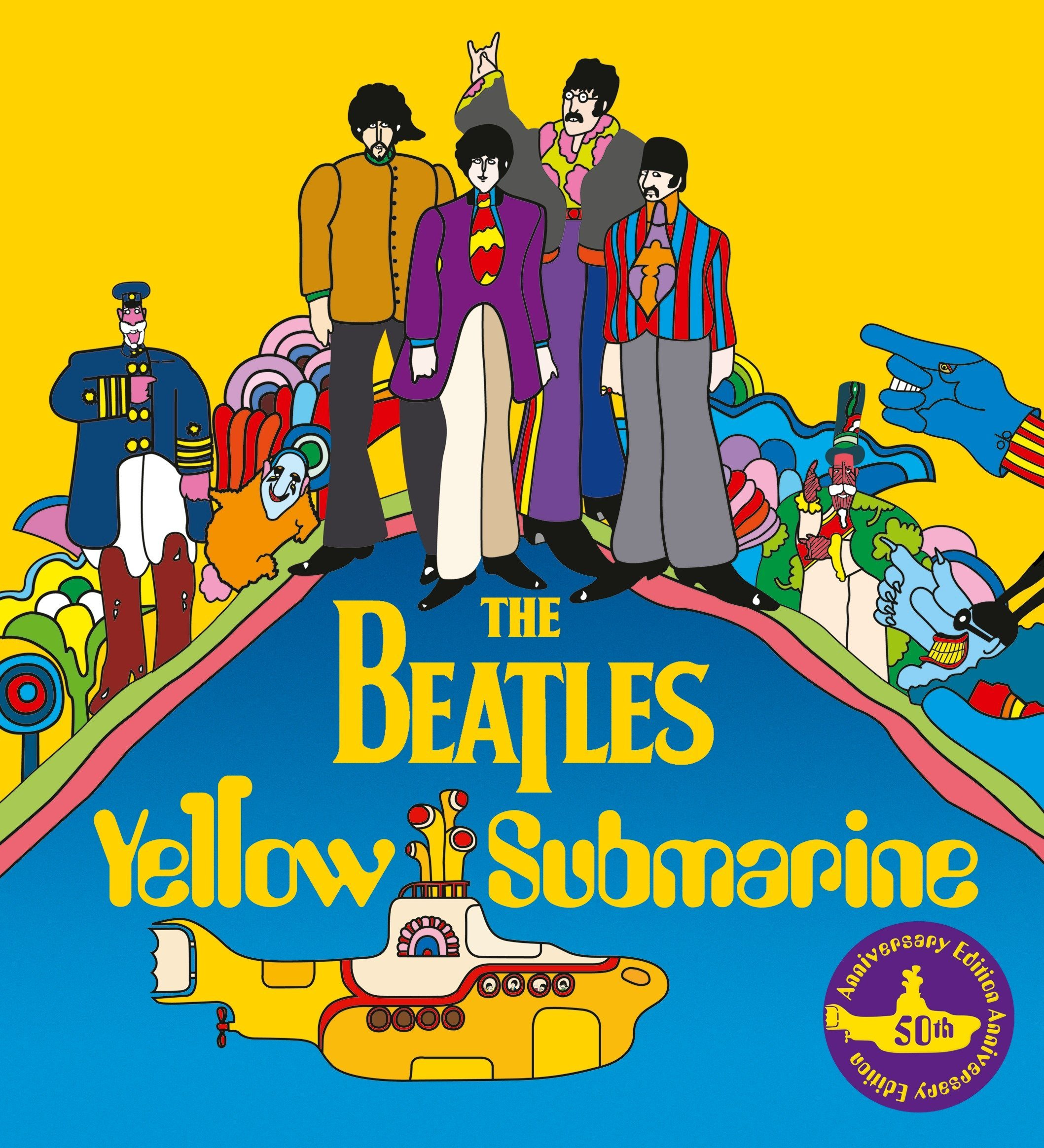 Image result for yellow submarine the beatles