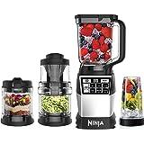 Ninja 4-in-1 Kitchen System (Blender, Processor, Auto-Spiralizer, High-Speed Blending Cup) AMZ012BL
