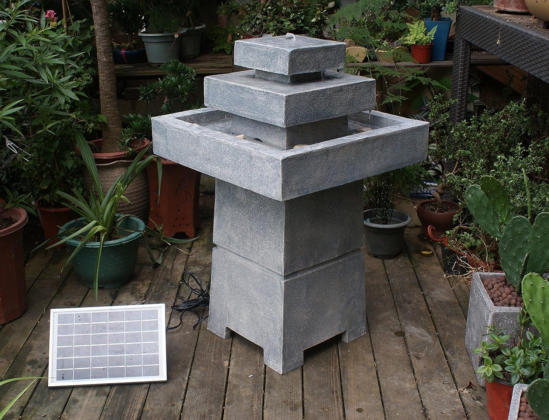 TIAAN Solar Water Powered Fountain