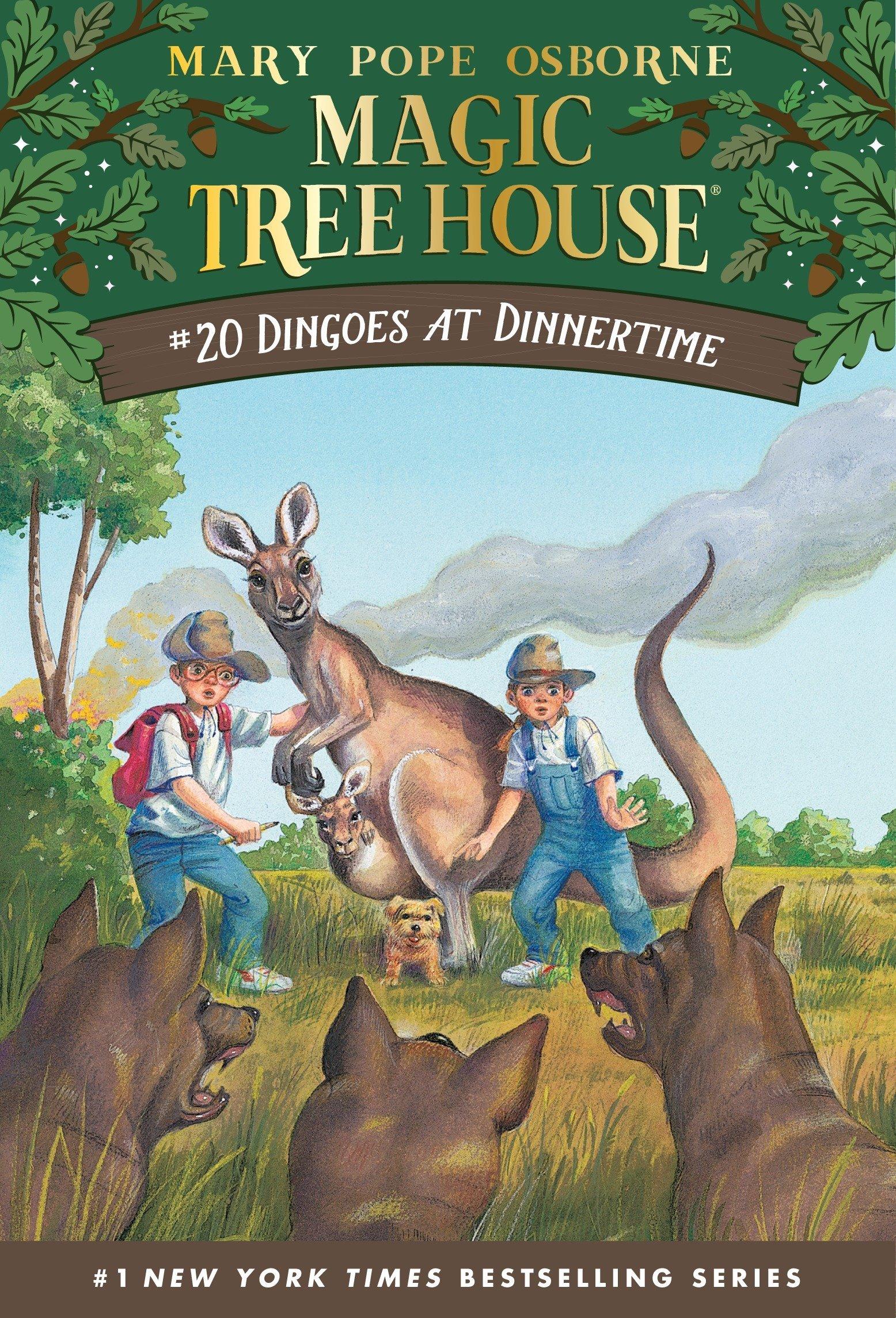 Dingoes Dinnertime Magic Tree House