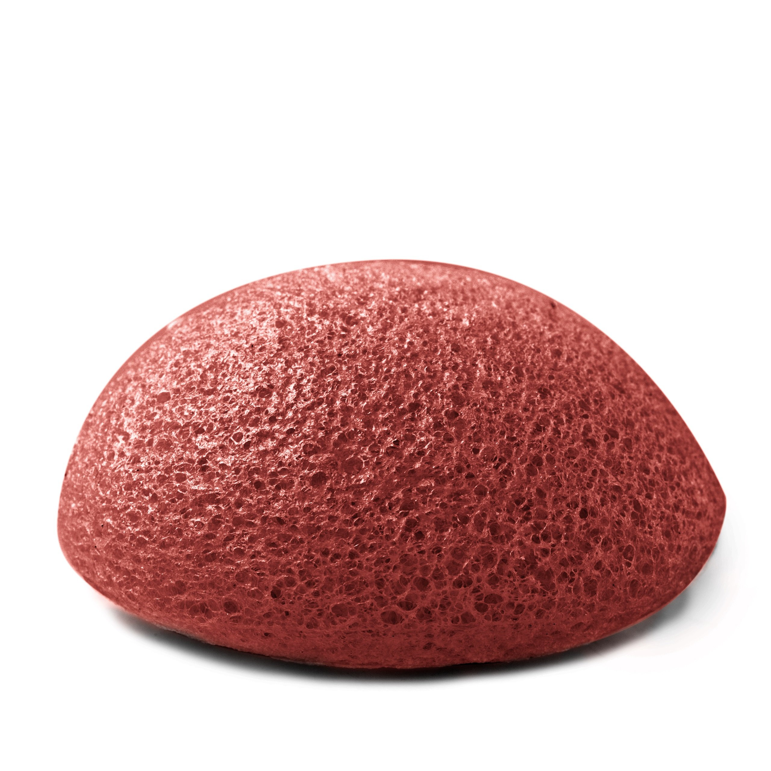 Premium Konjac Sponge (Pack of 100, French Red Clay)