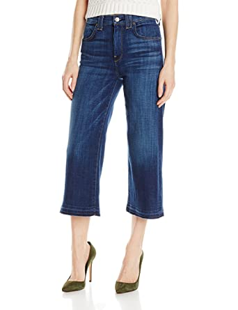 Amazon.com: 7 For All Mankind Women's Culotte with Released Hem ...