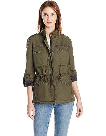 4c319a71e4 Levi s Women s Parachute Cotton Military Jacket