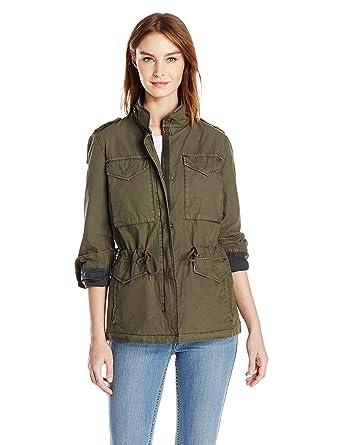 b1b9c04813a92 Amazon.com: Levi's Women's Parachute Cotton Military Jacket: Clothing