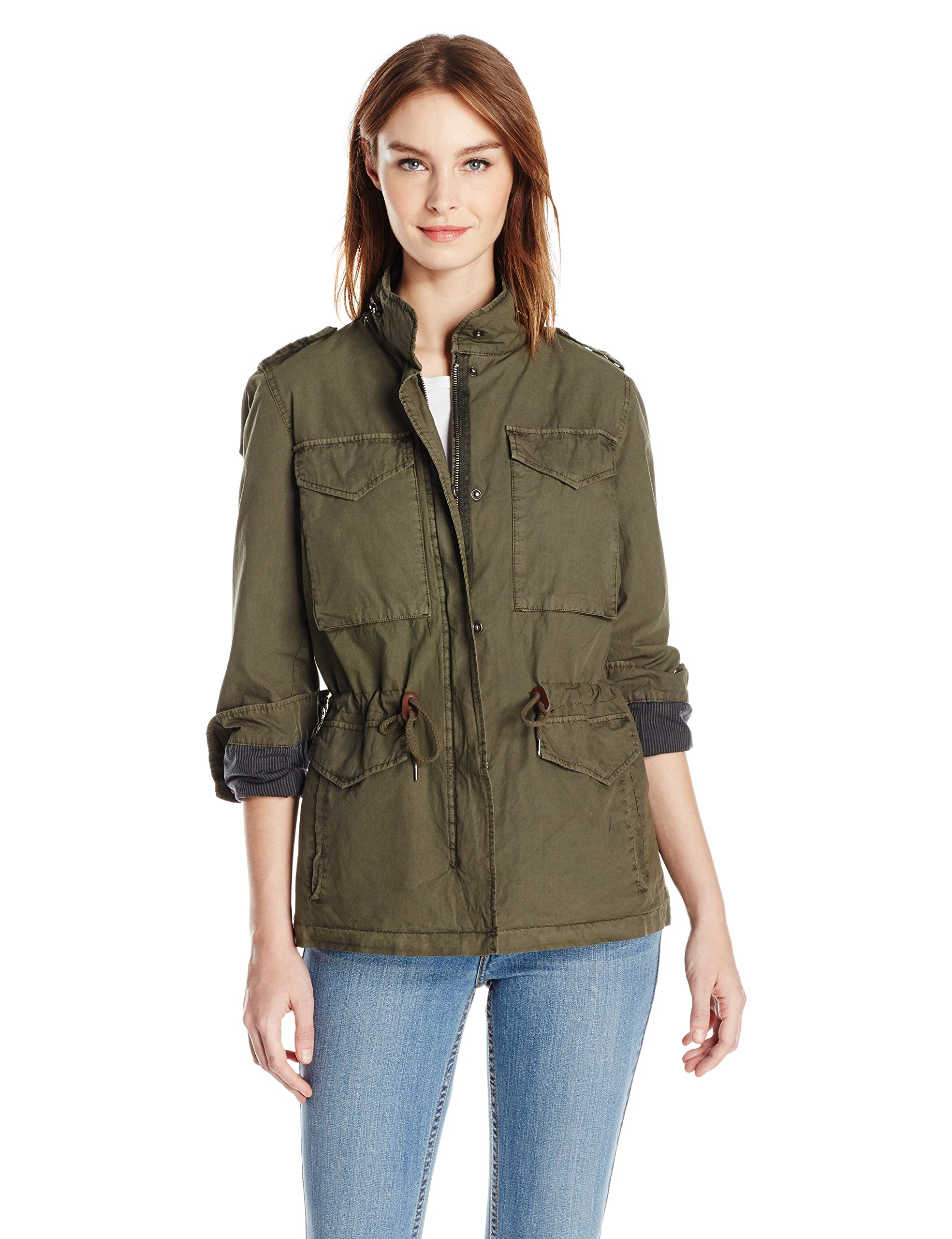 Levi's Women's Lightweight Cotton Four Pocket Field Jacket, AGN, S