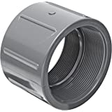 "Spears 830 Series PVC Pipe Fitting, Coupling, Schedule 80, 1"" NPT Female"