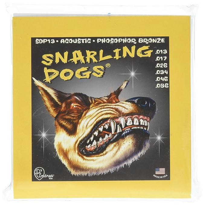 D'Andrea Snarling Dogs Acoustic Guitar Strings – Medium 0 013-0 056