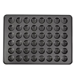 Wilton Perfect Results Non-Stick Mega Mini Muffin and Cupcake Pan, 48-cup