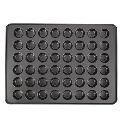 Wilton 2105-6746 Perfect Result Mega 48-Cup Mini Muffin Pan, 15x21-inch