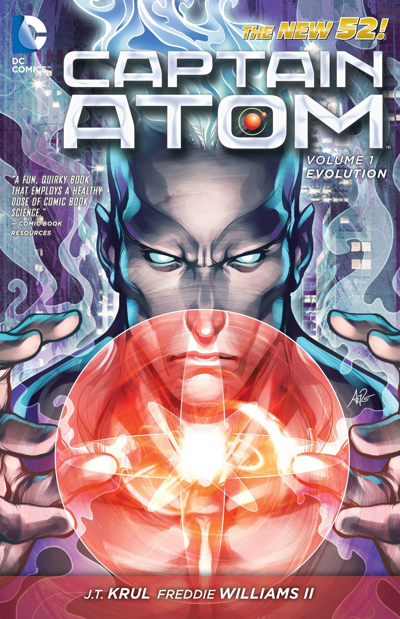 Captain Atom Vol. 1: Evolution (The New 52) PDF