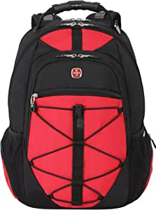 Swiss Gear SA6799 Black with Red TSA Friendly ScanSmart Laptop Backpack - Fits Most 15 Inch Laptops and Tablets